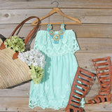 Coyote Lace Dress in Mint: Alternate View #5