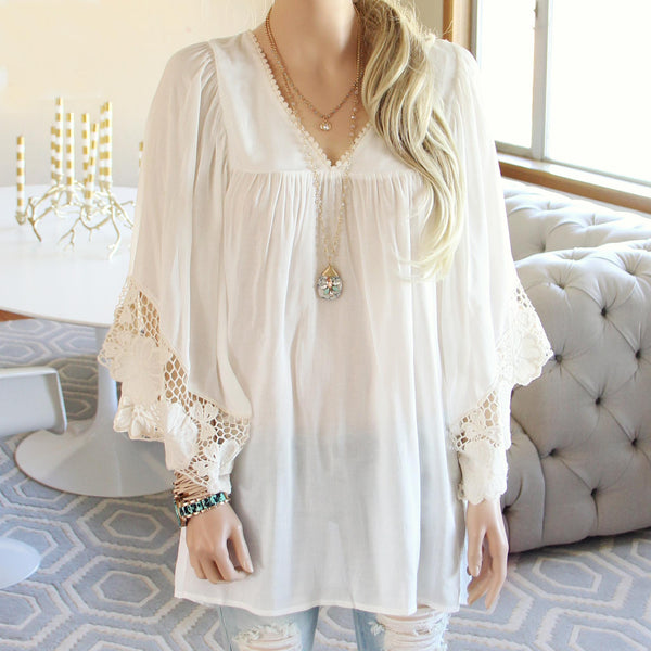 Cypress Lace Tunic: Featured Product Image