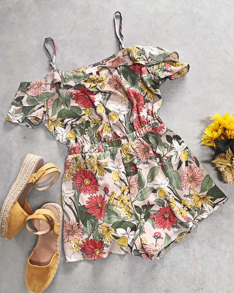Daffodil Moon Romper: Featured Product Image