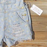 Daisy Distressed Overalls: Alternate View #3