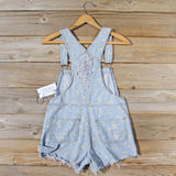 Daisy Distressed Overalls: Alternate View #4