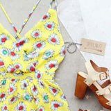Daisy Sky Romper: Alternate View #2