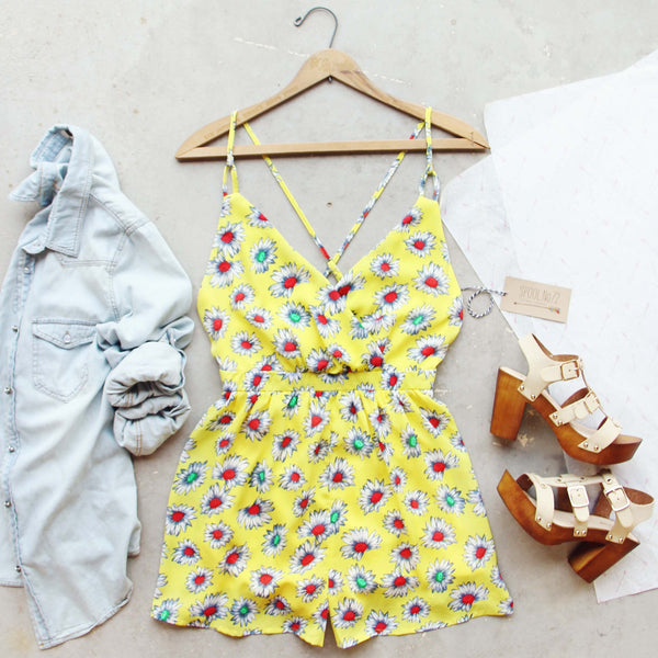 Daisy Sky Romper: Featured Product Image