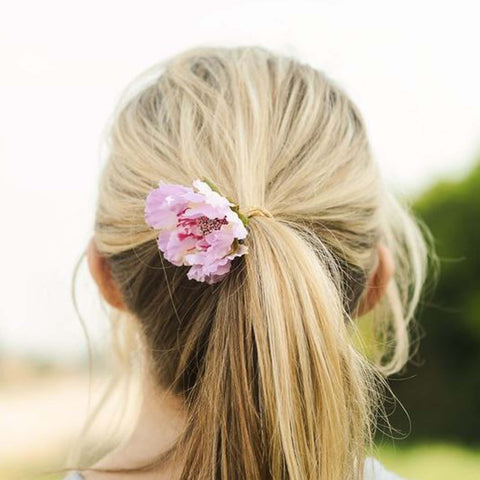 Daylily Hair Band in Lilac