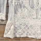 December Lace Blouse in Cream: Alternate View #3