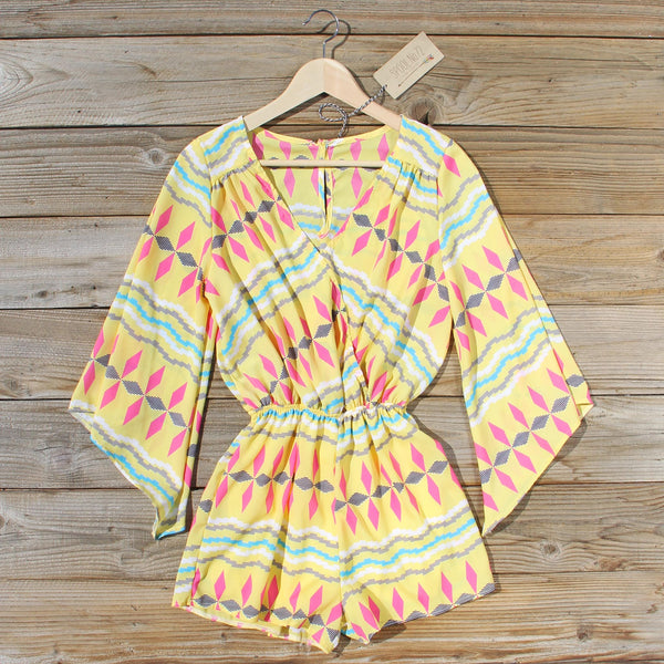Desert Dandelion Romper: Featured Product Image