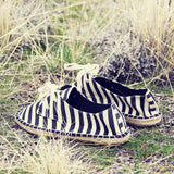 Desert Stripe Espadrilles: Alternate View #3