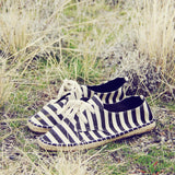 Desert Stripe Espadrilles: Alternate View #1