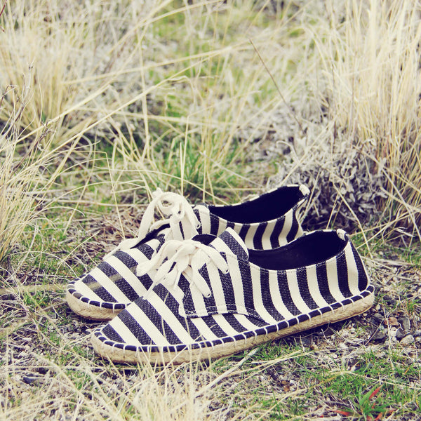 Desert Stripe Espadrilles: Featured Product Image