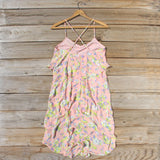 The Desert Flora Dress in Pink: Alternate View #4