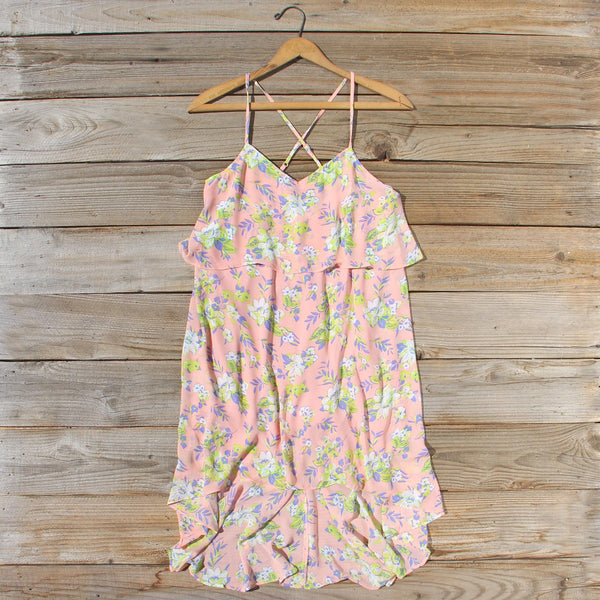 The Desert Flora Dress in Pink: Featured Product Image