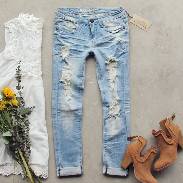 Desert Indigo Crop Jeans: Featured Product Image