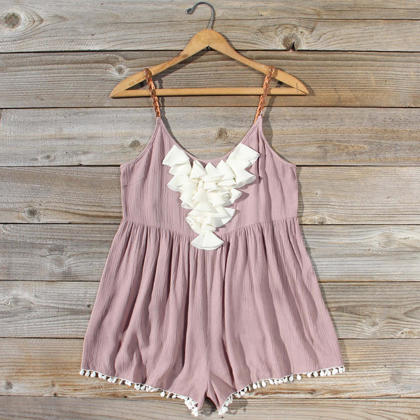 Braided Desert Romper: Featured Product Image
