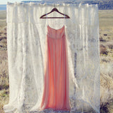Spool Couture Desert Peach Dress: Alternate View #3