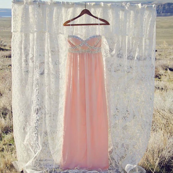 Spool Couture Desert Peach Dress: Featured Product Image