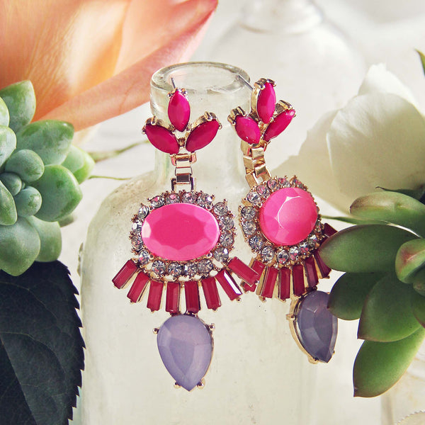Desert Pink Earrings: Featured Product Image