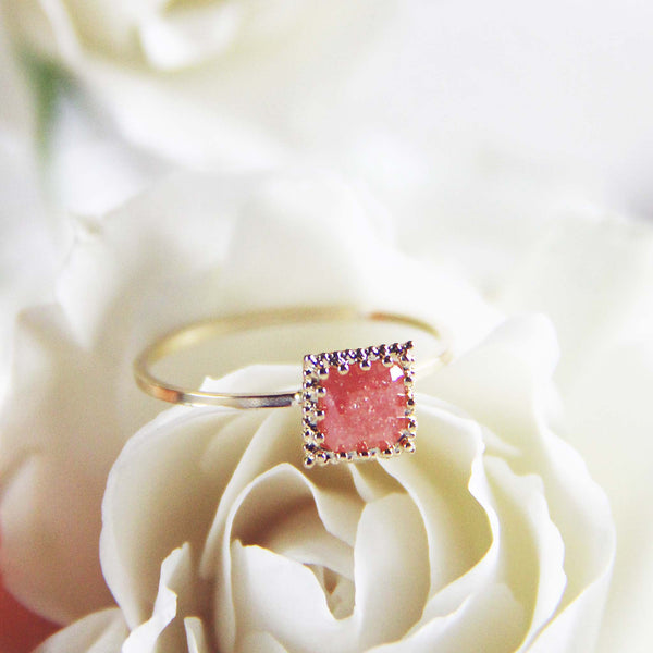 Desert Shard Ring in Rose: Featured Product Image