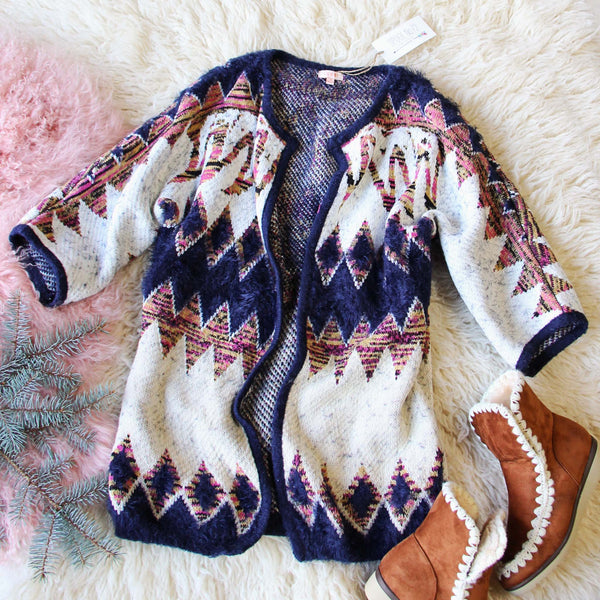 Spool Lux Snowy Desert Sweater: Featured Product Image