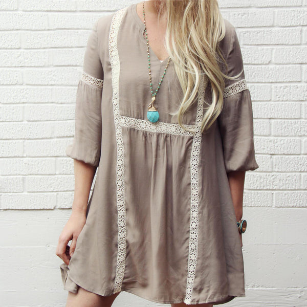 Desert & Stone Dress: Featured Product Image