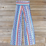 Desert Stroll Palazzo Pants: Alternate View #1