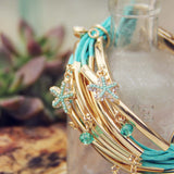 Desert Tide Bracelet in Mint: Alternate View #2