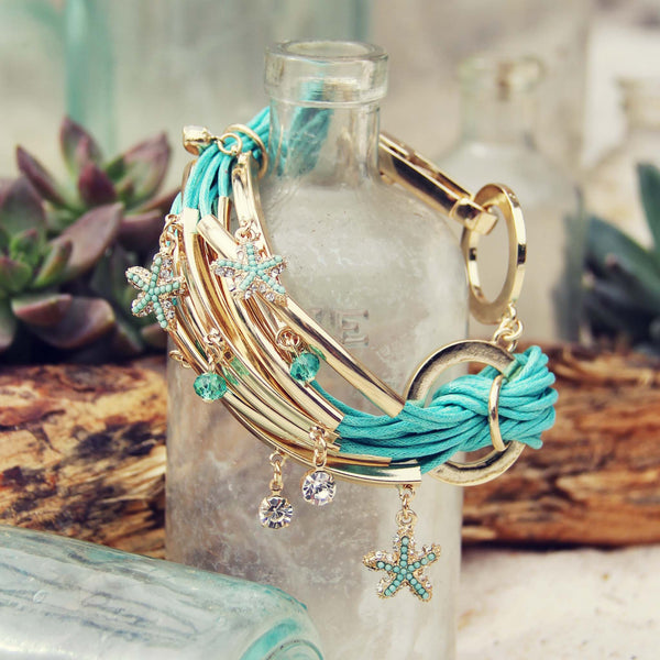 Desert Tide Bracelet in Mint: Featured Product Image