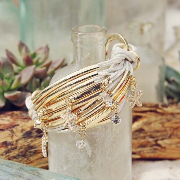 Desert Tide Bracelet in White: Featured Product Image