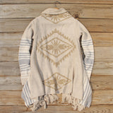 Desert Tribe Blanket Sweater: Alternate View #4