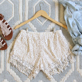 Soft Light Lace Shorts: Alternate View #3
