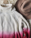 Dip Dye Tassel Sweater: Alternate View #2