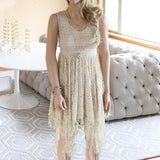 Dreamscape Dress in Sand: Alternate View #1