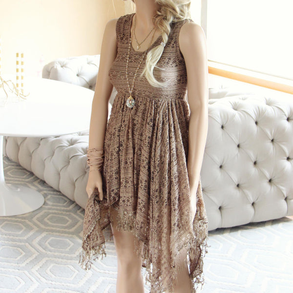 Dreamscape Dress in Taupe: Featured Product Image