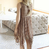 Dreamscape Dress in Taupe: Alternate View #4
