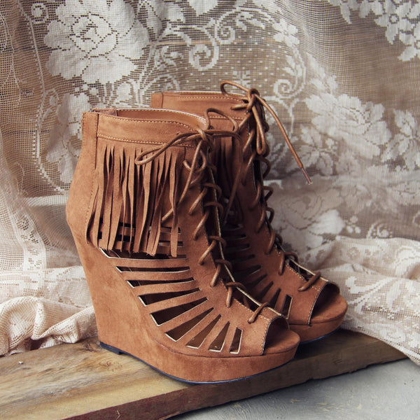 Dreamy Fringe Booties: Featured Product Image