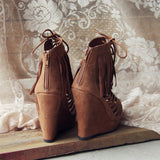 Dreamy Fringe Booties: Alternate View #4