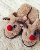 Dreamy Reindeer Slippers: Alternate View #2