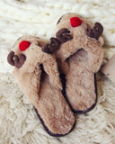 Dreamy Reindeer Slippers: Alternate View #3