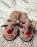 Dreamy Reindeer Slippers: Alternate View #1
