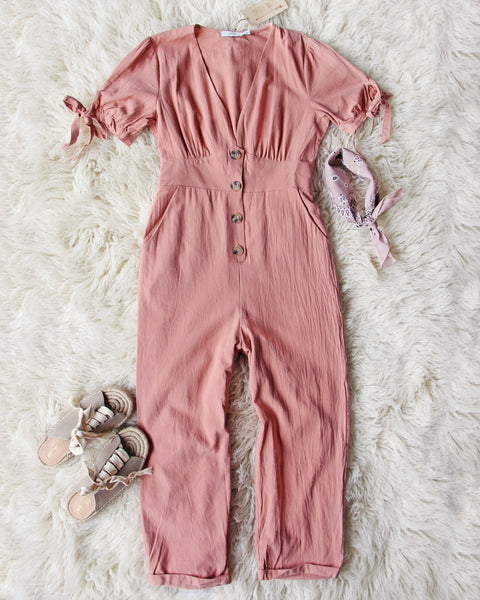 Desert Clay Jumpsuit: Featured Product Image