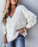 Dreamy Hearts Sweater: Alternate View #2