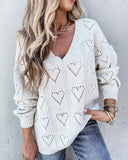 Dreamy Hearts Sweater: Alternate View #1