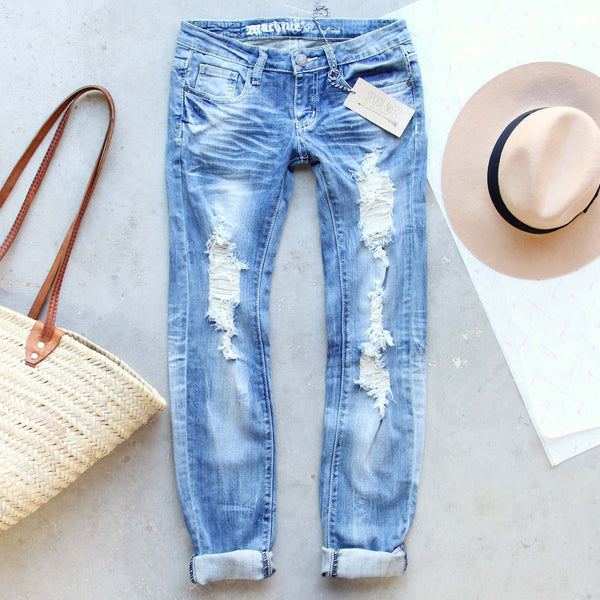 Driftwood Distressed Jeans: Featured Product Image