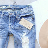 Driftwood Distressed Jeans: Alternate View #2