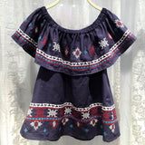 Driftwood Summer Top in Navy (wholesale): Alternate View #2