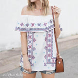 Driftwood Summer Top (wholesale): Alternate View #1