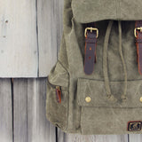 Shallow Creek Backpack in Sage: Alternate View #2