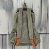 Shallow Creek Backpack in Sage: Alternate View #3
