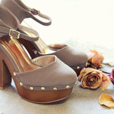Du Jour Wedges: Alternate View #4