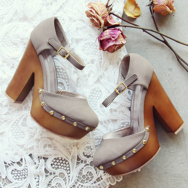 Du Jour Wedges: Featured Product Image