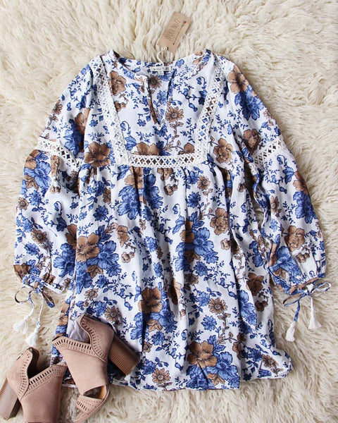 Dusty Blooms Dress: Featured Product Image
